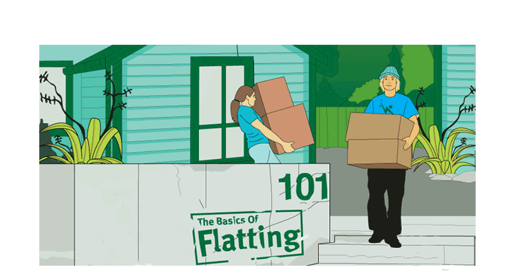 landing starting tenancy flatting101 1
